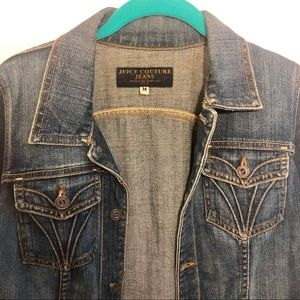 Vintage Juicy Couture Jean Jacket With Patch